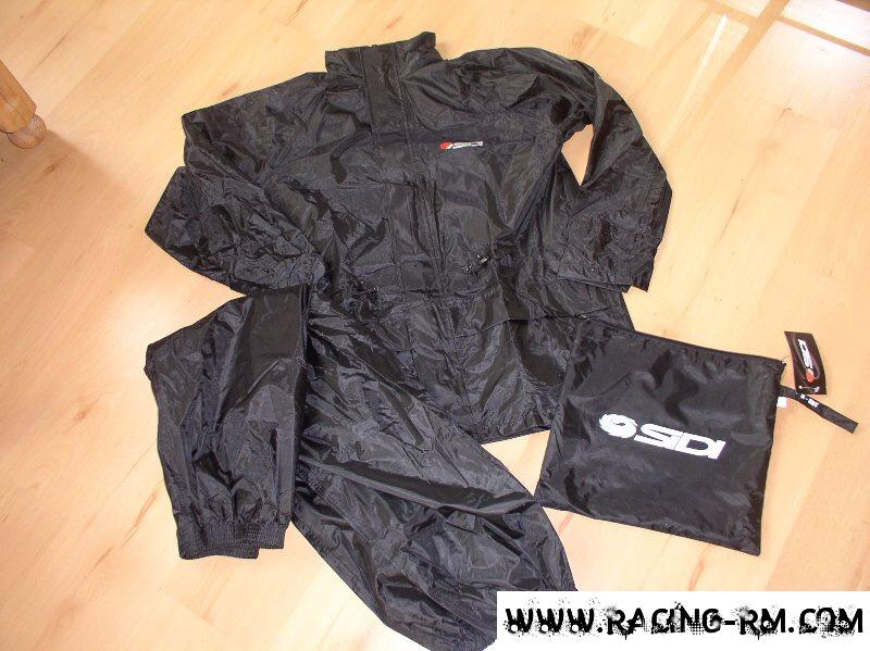 6b38e1c31df Oblečení do deště SIDI -kalhoty + bunda (silné pogumované -nepromokavé) K  out